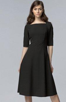 Nife S63 sukienka czarna