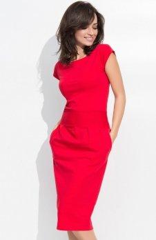 Numinou NU44 sukienka czerwona