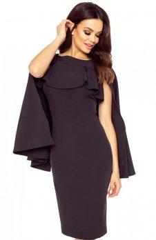 Bergamo 94-05 sukienka czarna
