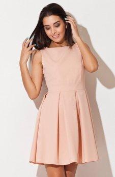 Katrus K128 sukienka różowa
