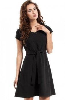 Moe MOE246 sukienka czarna