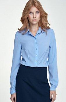 Nife B70 koszula niebieska