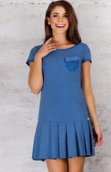 Infinite You M060 sukienka niebieska
