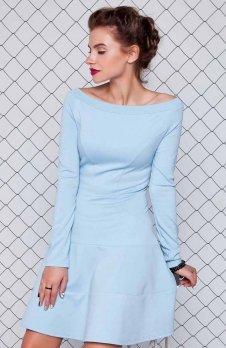 Cover GR993 sukienka błękitna