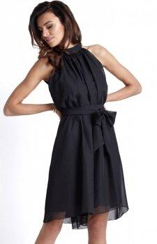 Ivon Livia sukienka czarna