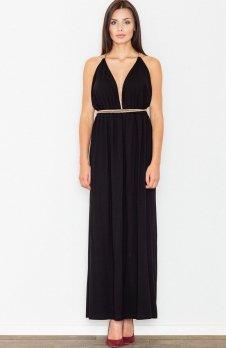 Figl M483 sukienka czarna