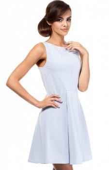Moe MOE188 sukienka błękitna
