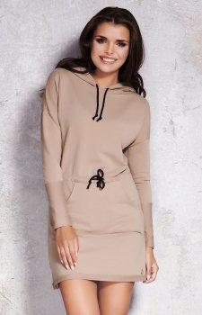 Infinite You M023 sukienka beżowa