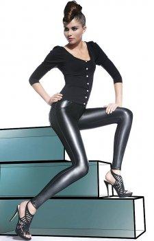 *Bas Bleu Vanessa legginsy lateksowe 200den