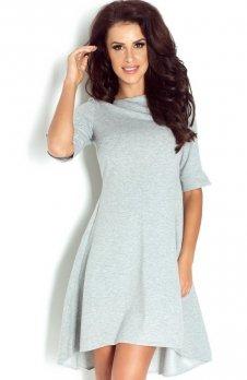 Ivon 191 sukienka szara