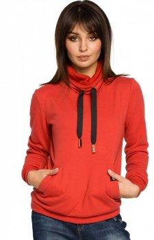 BE B055 bluza czerwona