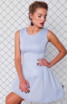 Cover GR1158 sukienka błękitna