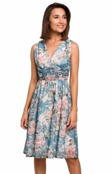 Letnia sukienka w kwiaty S225/4