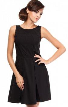 Moe MOE188 sukienka czarna