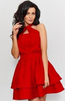 Roco 0202 sukienka czerwona