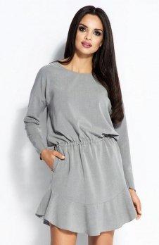 Dursi Flo sukienka szara