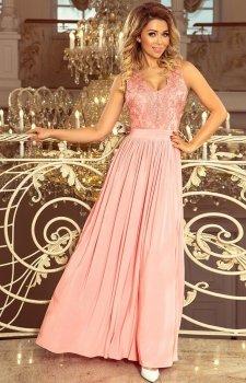 Wieczorowa długa sukienka Lea Numoco 215-4
