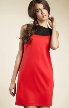 Nife s25 sukienka czerwona