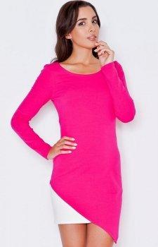Katrus K284 sukienka różowa