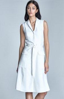 Nife S72 sukienka ecru
