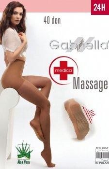 Gabriella Medica Massage 40 Den Code 118 rajstopy przeciwżylakowe