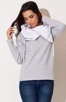 Katrus K140 bluza szara