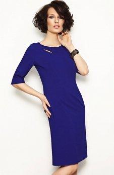 Vera Fashion Inga sukienka chabrowa