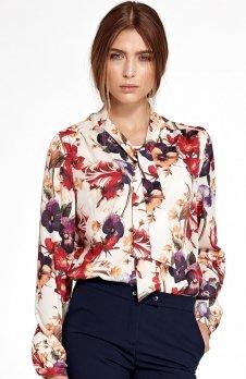 Nife B94KW bluzka w kwiaty