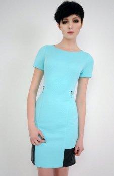 Vera Fashion Violette sukienka turkusowa