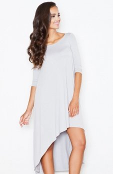Figl M392 sukienka szara