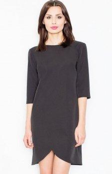 Figl M449 sukienka czarna