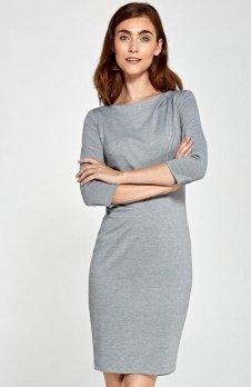 Nife S88 sukienka szara