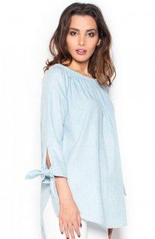 Katrus K377 koszula błękitna