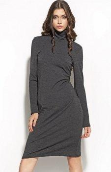 Nife S56 sukienka grafit