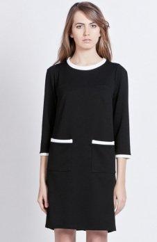 Lanti SUK103 sukienka czarna