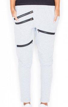 Katrus K333 spodnie szare