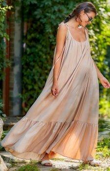Zwiewna sukienka letnia maxi A307