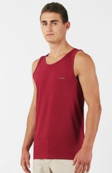 Pierre Cardin Tank top bordowy