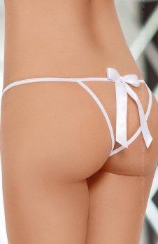 Softline 2426 stringi białe