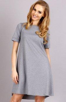 Makadamia M36 sukienka szara