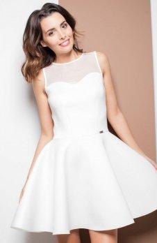Katrus K238 sukienka ecru