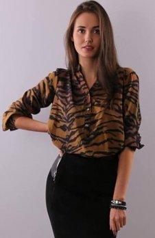 Roco 0049 koszula wzór tygrysa