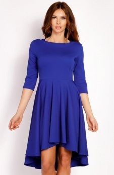 LOU LOU L004 sukienka niebieska