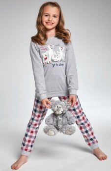 Cornette Kids Girl 176/102 My Family piżama