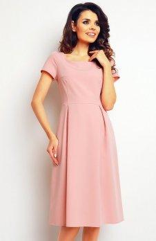 Infinite You M084 sukienka pudrowy róż