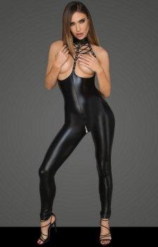 Erotyczny kombinezon Noir F125
