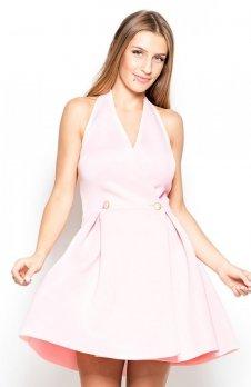 Katrus K386 sukienka różowa