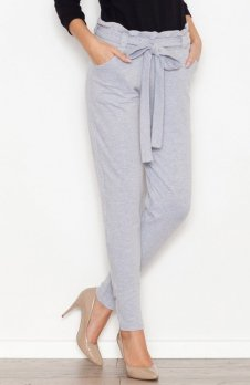Katrus K259 spodnie szare