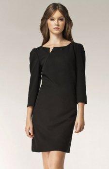 Nife S39 sukienka czarna