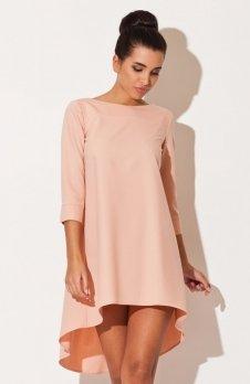 Katrus K141 sukienka różowa